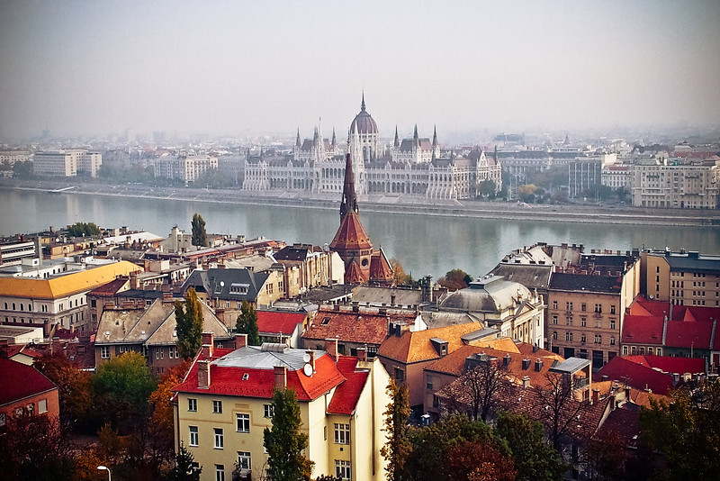 Budapest, view from Castle Hill
