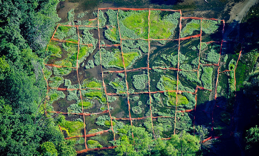. A unidentified grid along the Mississippi River south of the Twin Cities. (Pioneer Press: Ben Garvin)