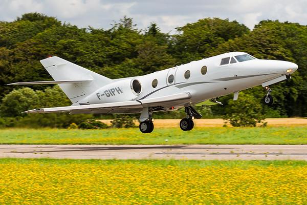 F-GIPH - Dassault Falcon 100