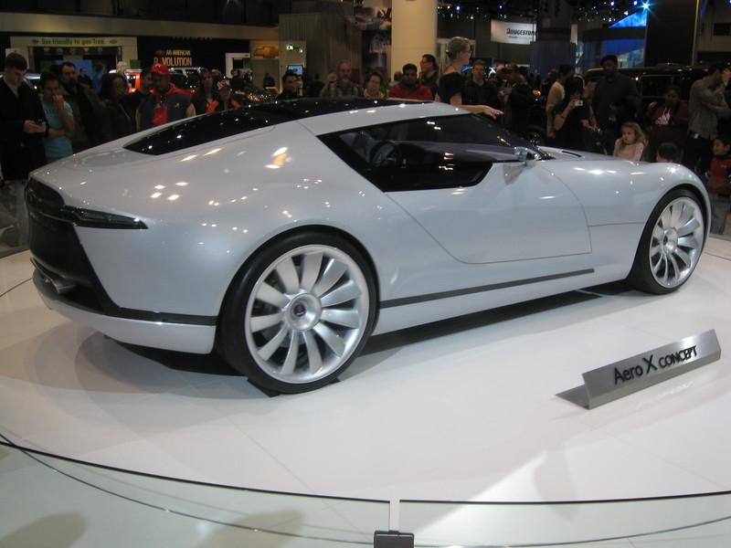 Concept car: Saab Aero X