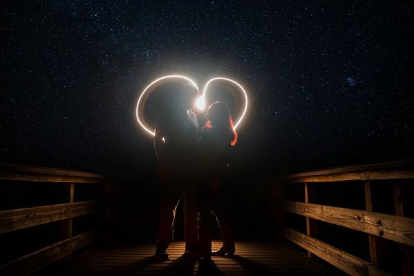 Mary & John Under the stars
