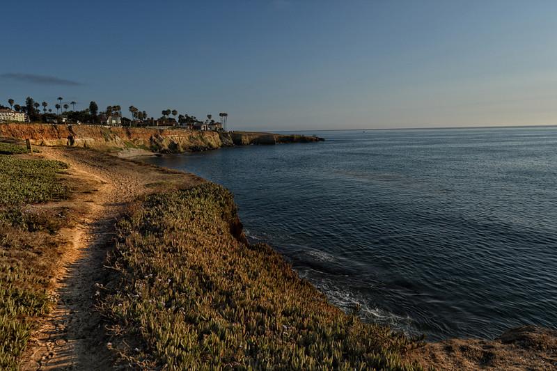 sunset walks cliffs