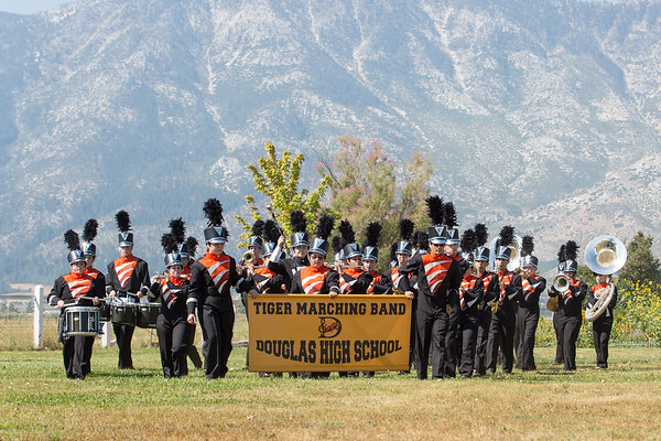 TIGER MARCHING BAND DOUGLAS HS 2017
