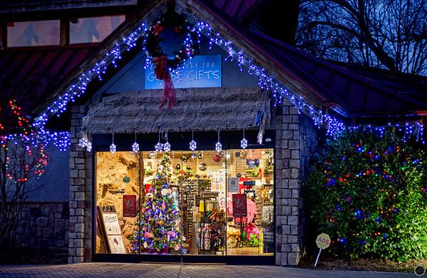 Chattanooga Zoo Christmas 2017