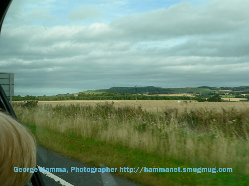 Driving to Glasgow from the northeast of England.