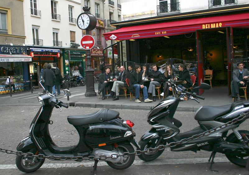 Place de la Contrascarpe- Paris