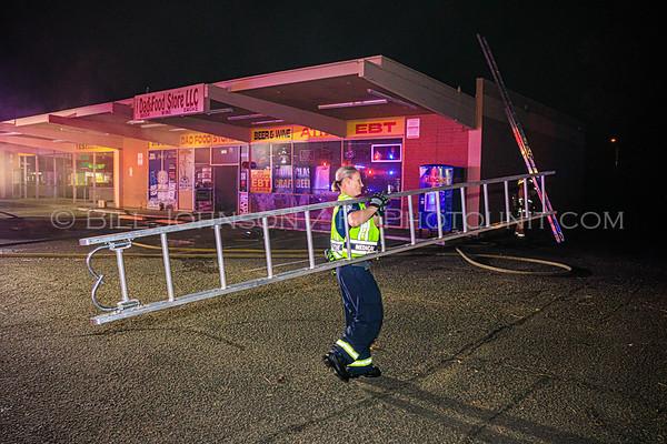 Commercial Structure Fire  - 1324 W. University Blvd. - Tempe Az.