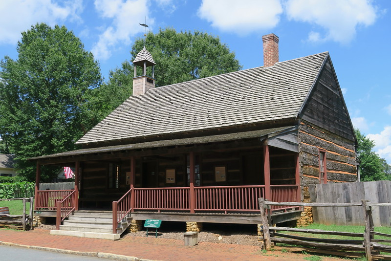 African Moravian Log Church (ca. 1823)