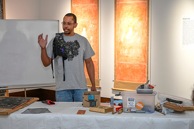 Art Jamaal Barber Printmaking Masterclass