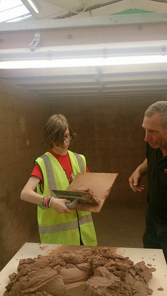 2014-07-01 Scouts Do Plastering