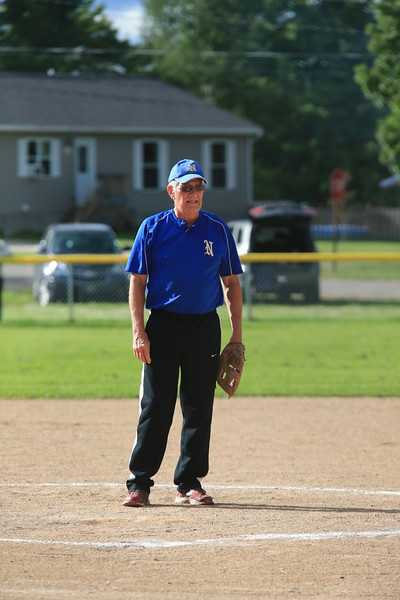 Old Timer's Softball - Marquette vs Negaunee - Lion's Field - 08/09/13