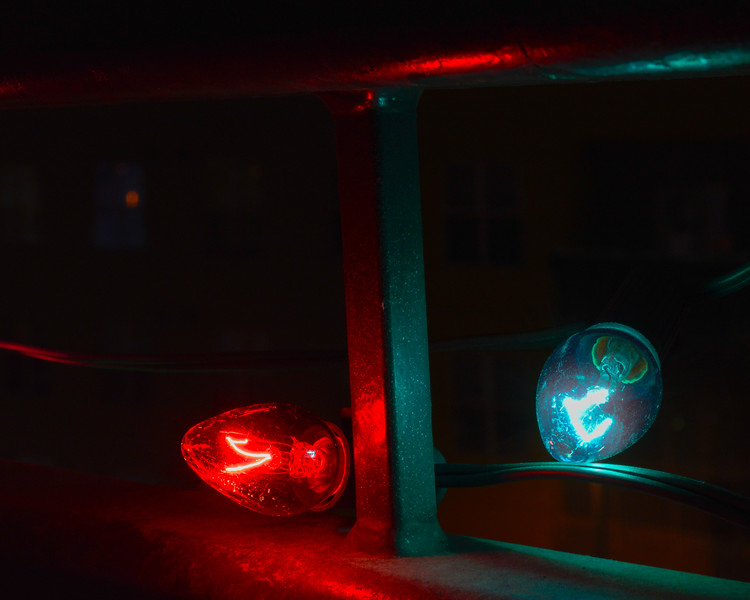 Red and Blue Lights