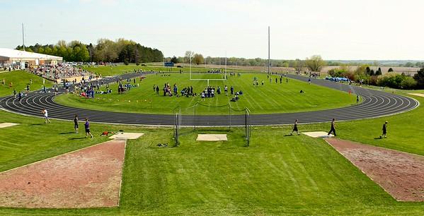 JV boys and girls Track vs NW/TITANS/Burke/MW