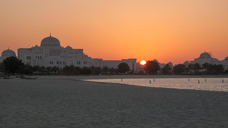 Abu Dhabi | Prezidentský palác