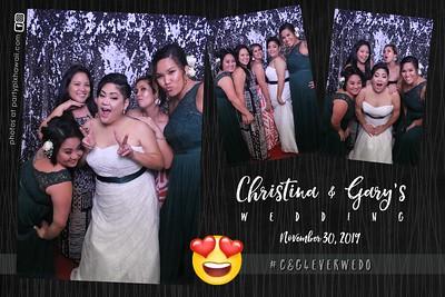 Gary & Christina's Wedding (Magic Mirror Photo Booth)