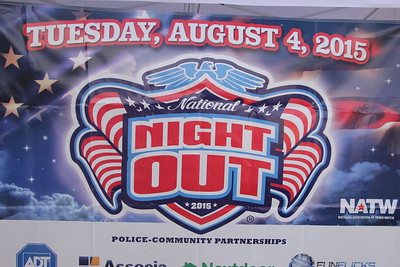 National Night Out in Pontiac 2015