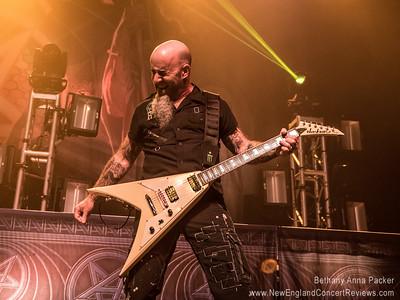 Anthrax at The HOB Boston - MA