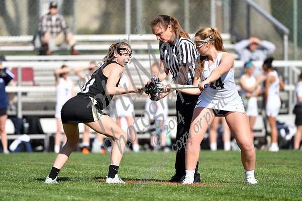 Wyomissing vs Berks Catholic girls High School Lacrosse 2016 - 2017