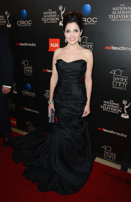 . Actress Jen Lilley attends The 40th Annual Daytime Emmy Awards at The Beverly Hilton Hotel on June 16, 2013 in Beverly Hills, California.  (Photo by Mark Davis/Getty Images)