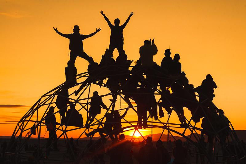 Monkey Bars | Burning Man, 2009