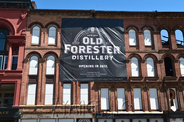 Construction Kickoff at Old Forester Distillery July 22, 2015