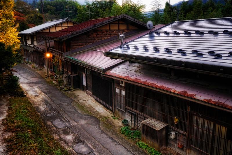 Tsumago-Juku, Evening