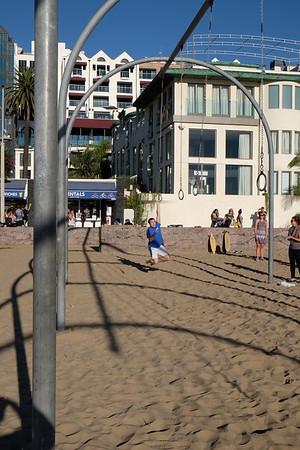 Joe at the beach in LA