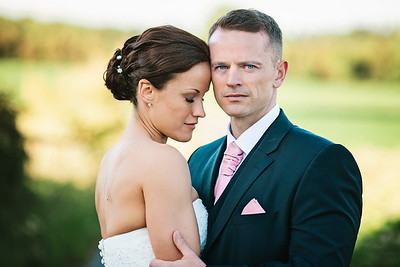 David and Teresa's Beautiful Swancar Farm Wedding