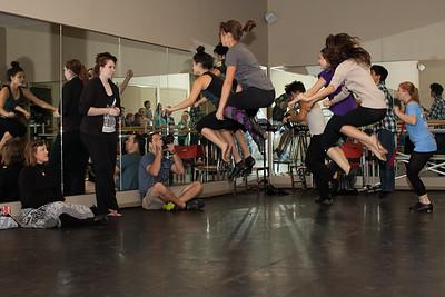 Mary Poppins Rehearsals