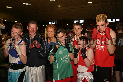 The George Lavery Boxers who hosted the fight nite during the Hilltown Boley Fair. 06W27S18