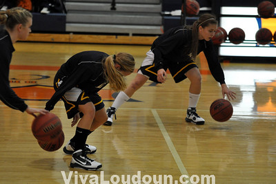 Girls Basketball:  Briar Woods v Loudoun County 12112009