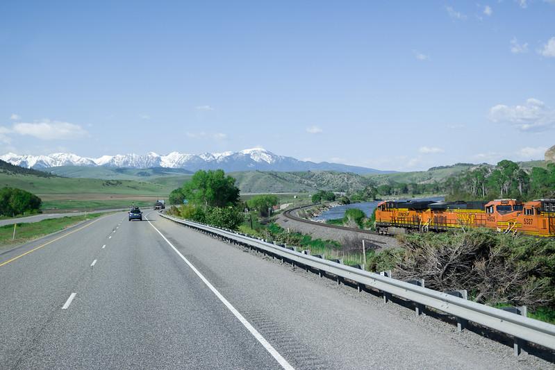 Montana BNSF Train