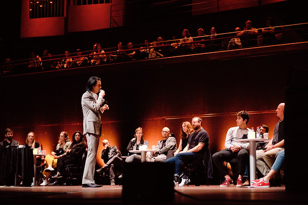2019-05-24 Conversations with Nick Cave in Le Philharmonie (Luxemburg)
