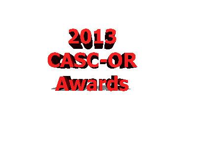 2013 CASC Annual Awards