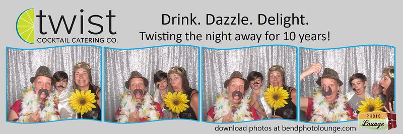 Twist Cocktails 10 Year Anniversary