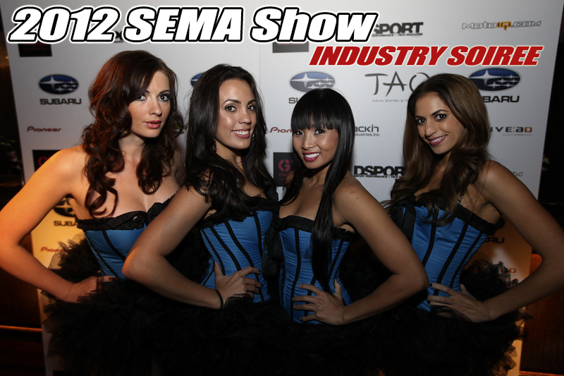 industry soiree, sema party,