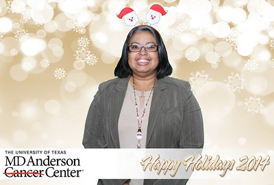 MD Anderson Holiday 2014
