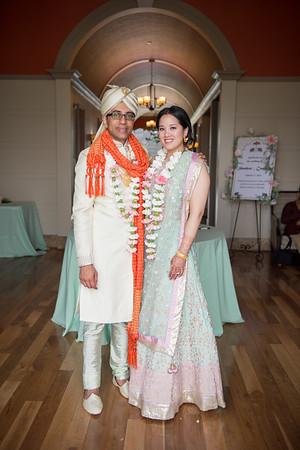 Camanh and Shankar - Wedding