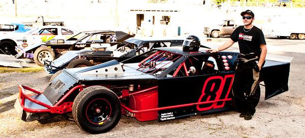 Dixie Speedway Sayre, Alabama 2-28-12