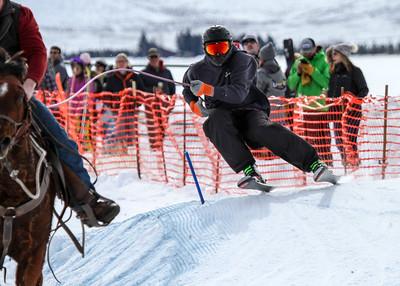Feb 15, 2020 - Extreme Skijoring