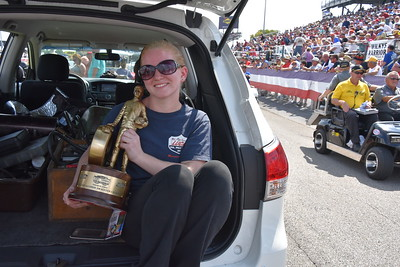 Top Alcohol Dragster Winners Circle