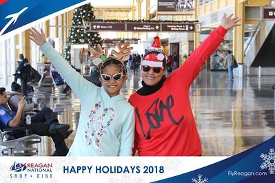 Reagan Shopping & Dining: Happy Holidays 2018 - Day 1