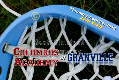 2014 Junior Varsity Academy at Granville (04-24-14)