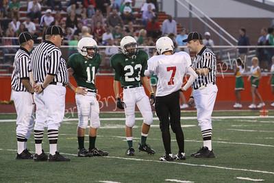 Fowler Middle School 8th Grade A Team vs Griffin Middle School 8th Grade A Team 9/15/2009