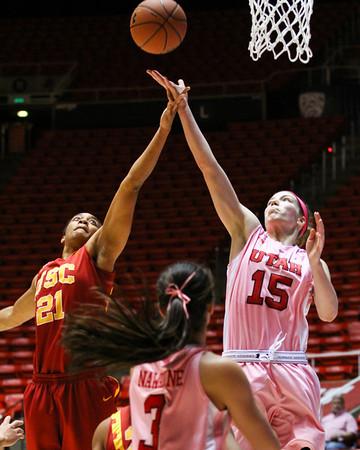 U of U Women's Basketball vs USC • 02-27-2014