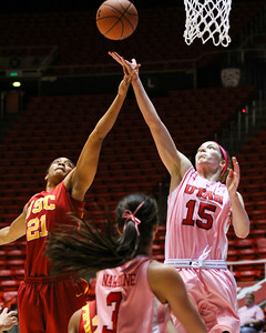 U of U Women's Basketball vs USC • 02-27-2014