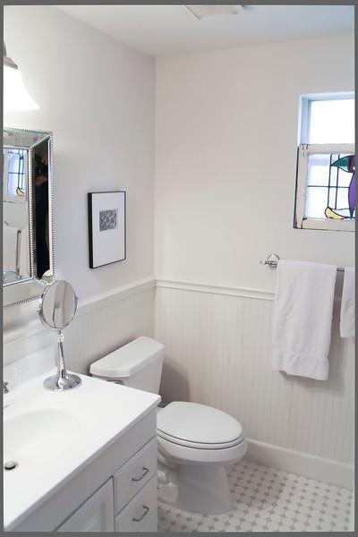 renovated (July 2009) master bathroom.