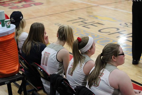 '19 Cardinal JV and Varsity Girls Basketball Game