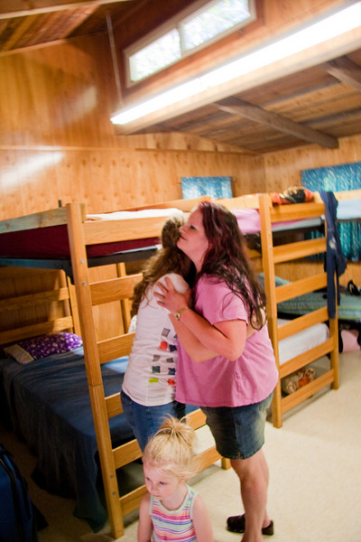 The cabins were VERY nice.  Jenn and I have never seen, in life or film, such clean and bright and all-around nice looking cabins!