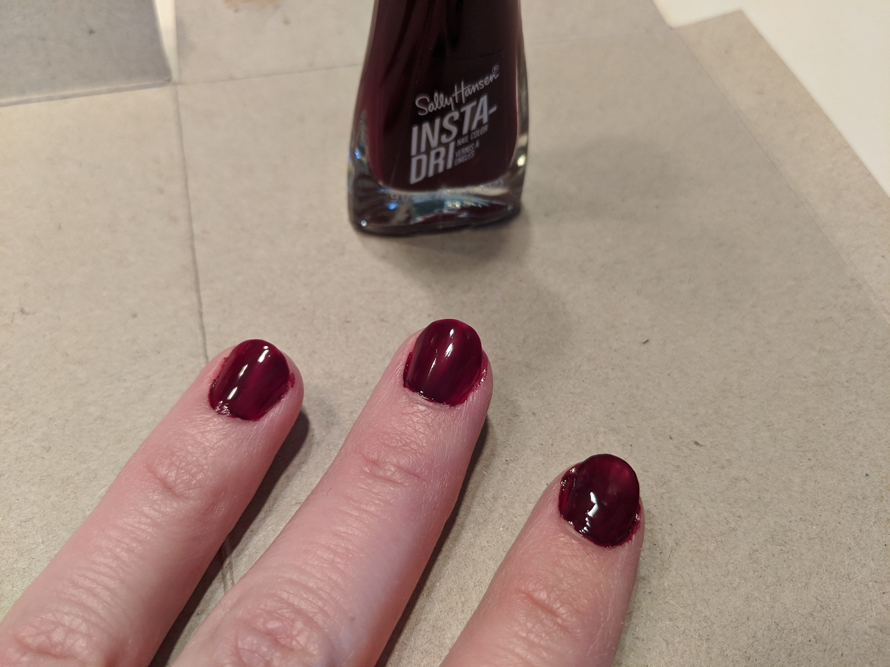 Archivist nail polish, Apr 19, 2020